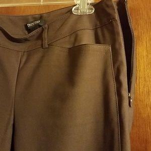 White House Black Market Pants - Brown Slim Ankle Pants